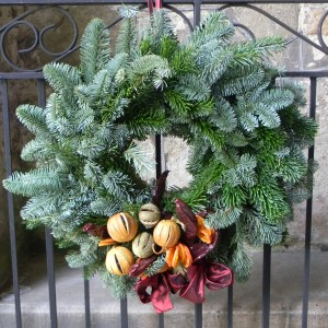 Downton Abbey Wreath