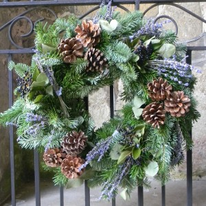 Rhubarb Hall Wreath